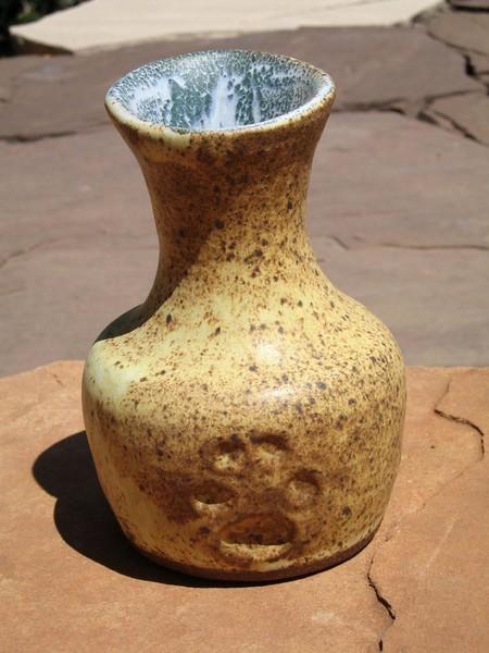 Coyote Vase