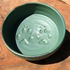 Chance and Cloverware Dogbowl