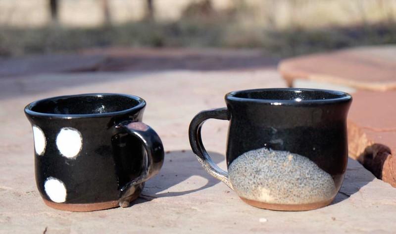 Spotted Bat Mug Set
