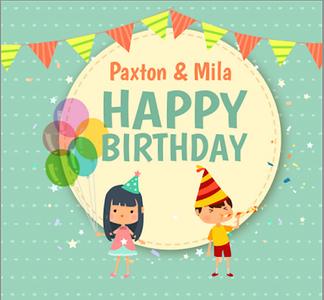 Paxton & Mila's Birthday Party