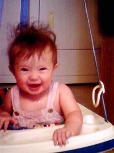 Katherine, (Baby Caffine), July, 2004