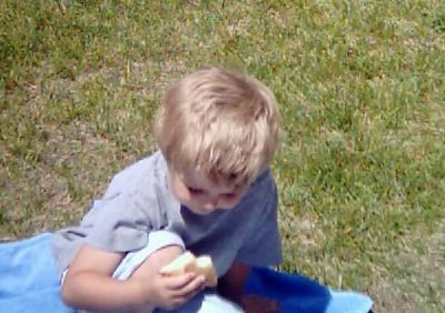 Justin, July, 2004