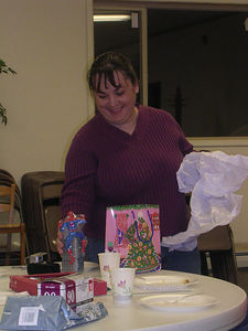 cell group Christmas party/birthday party