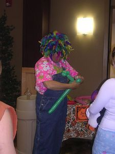 Tom Stockton, the balloon man, HarvestFest, 2005