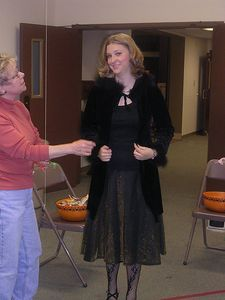 Marissa Stockton and Barb LaRue, HarvestFest, 2005