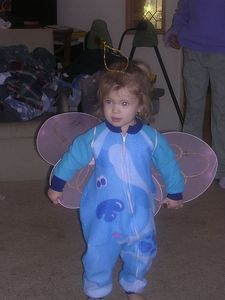 Katherine, the Blue's Clues butterfly