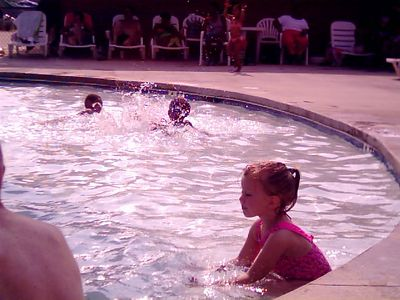 Leah at Ft. Jackson water park