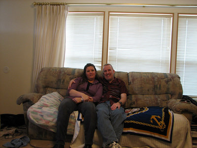 """Me (Laura) and """"Uncle"""" David"""