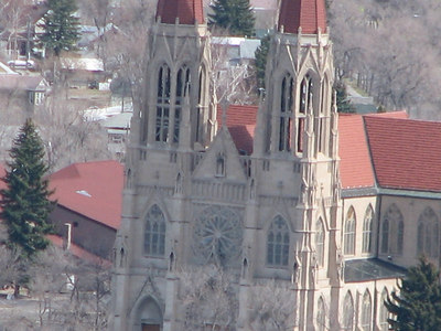 The Cathederal...as seen from Mt. Helena