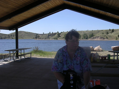 Carol Rady at Canyon Ferry Lake