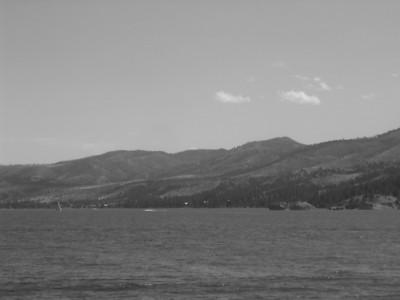 panorama of Canyon Ferry Lake
