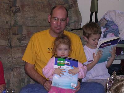 Brian Rady, Katherine, and Justin