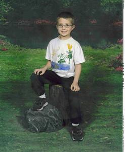 Justin school pics
