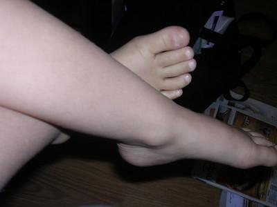 Katherine's feet