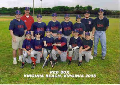 Jon's baseball team