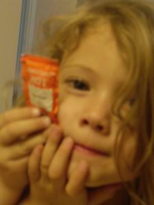 Little girl silliness