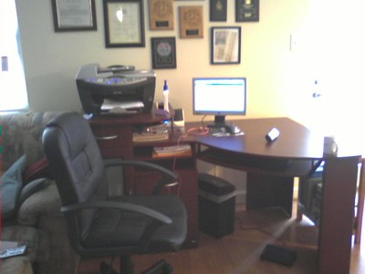 My new desk....completely assembled by ME!