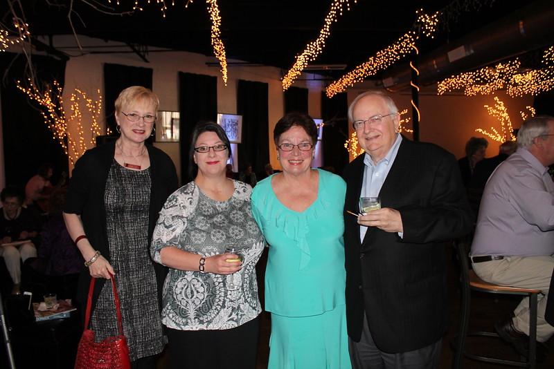 Deborah Malone, Nicole Sylvester, Susan Chadick, David Melor 1