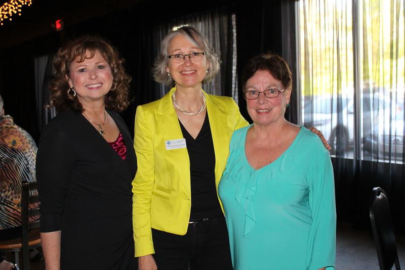 Jane Guyton, Monika Fischer-Massie, Susan Chadick 1