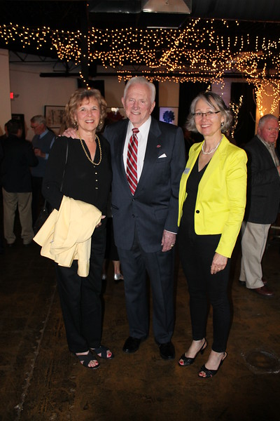Gen and Frank Broyles, Monika Fischer-Massie