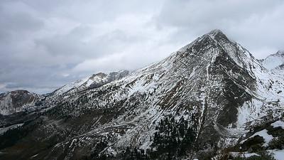 Cobb Peak with Duncan Ridge beyond.