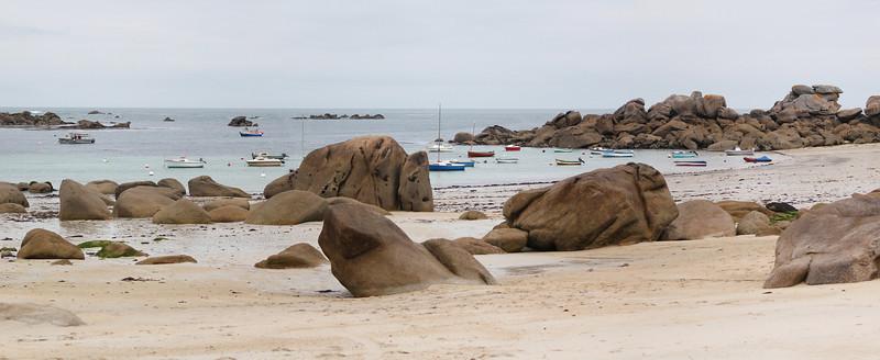Du granit et des vagues<br /> (Kerlouan ; Finistère)