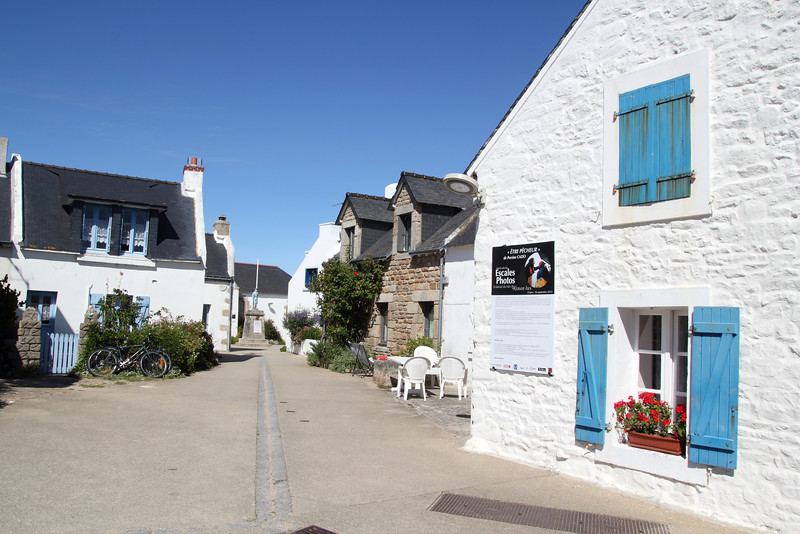 Coeur du village de l'Ile de Houat, subtil mélange entre Bretagne et Grèce