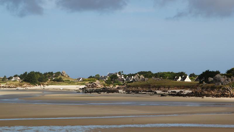 La cote sud de Kerlouan <br /> (Bretagne ; Finistère)