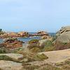 Sur le sentier de la Côte de granite rose à Perros-Guirec.