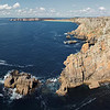 Presqu'île de Crozon, Pen Hir. Le spot de grimpe du Finistère.