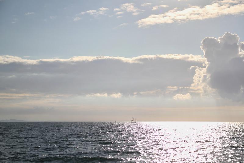 Seul en pleine mer