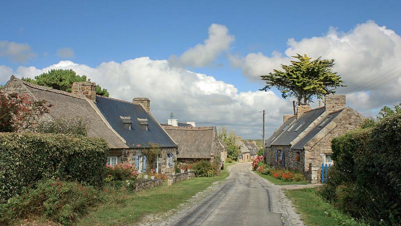 Presqu'île de Crozon, hameau du bout du monde.