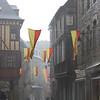 Ville de Dinan, pluvieux...