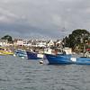 Port Navalo et ses bateaux de pêche
