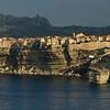 Lever de soleil sur les falaise de Bonifacio depuis le bivouac, magique