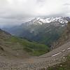 Massif du Mont-Blanc depuis les confins du Beaufortain.