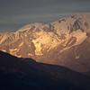 Les glaciers du Mont-Blanc bien secs cet automne...