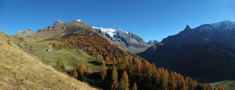 Haute-vallée de Peisey-Nancroix.<br /> Une de ces journées où l'on resterait bien en haut...
