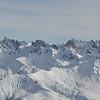 Depuis le Grand Mont, en direction des hautes cimes du Beaufortain