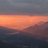 Plein feu sur le Lac d'Annecy et les Aravis