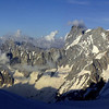 Grandes Jorasses et Vallée Blanche
