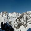 Sommet du glacier des Périades, bassin de Talèfre.