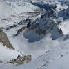 Depuis la Pointe des Cerces, vue sur la Vallée de la Clarée et Névache. Un petit air de Sud...