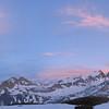 L'heure bleue sur le massif du Thabor