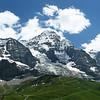 Alpes Bernoise : Klein Scheidegg aux pieds de l'Eiger et de la Jungfrau.