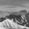 Massif du Mont-Blanc depuis les Saisies