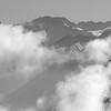 Les Ecrins et le Trélod sortent du brouillard.<br /> (Meije, Rateau, 2 Alpes, Muzelle, ... et Trélod !)