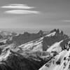 Regard vers les Alpes du Sud
