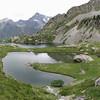 Lac de Pétarel dans le Valgaudemar : envie de pêche !