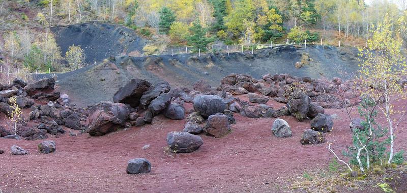 Les bombes volcaniques du Puy de la Vache